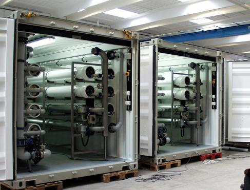 Water Treatment Plant on Container